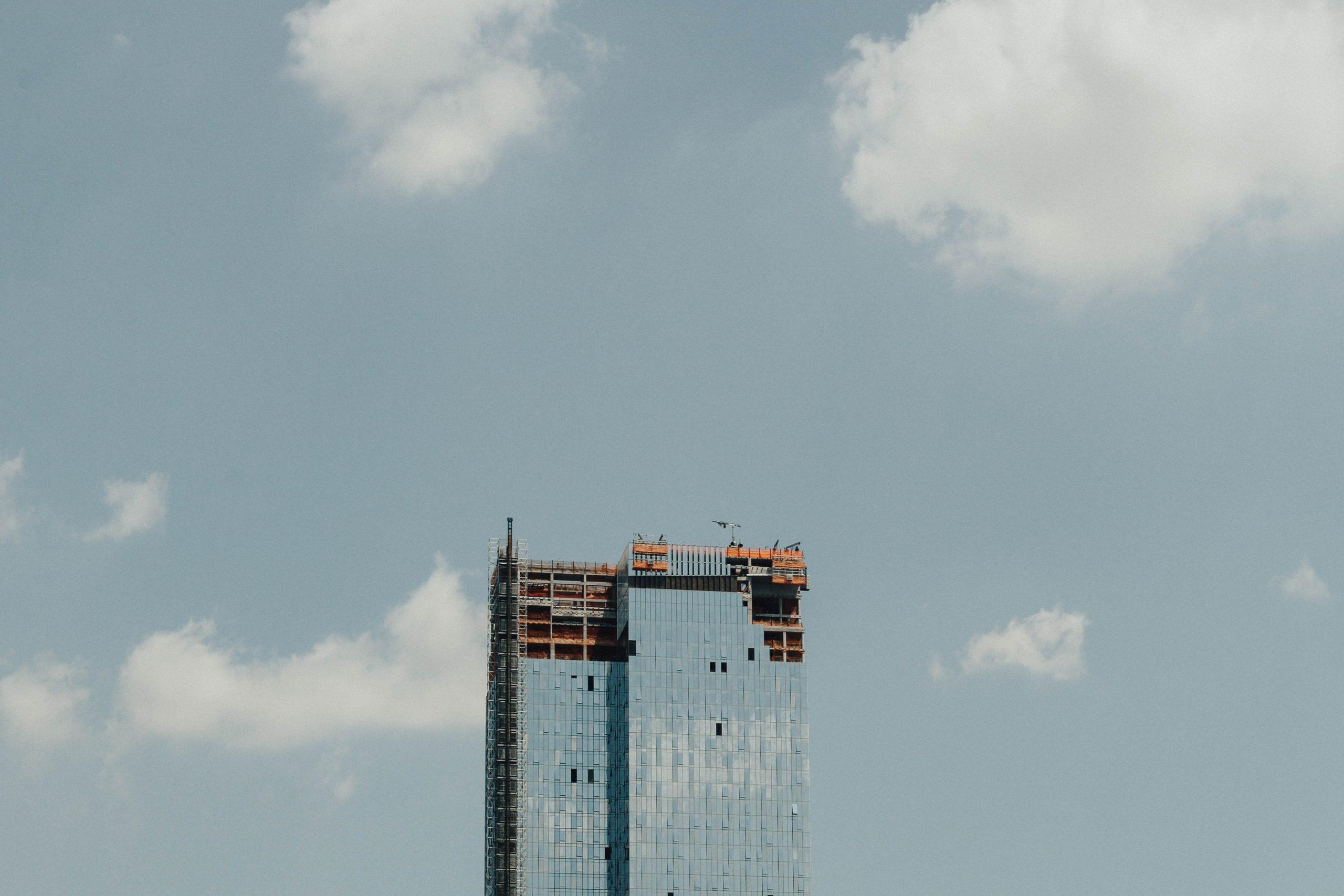 budowa w czasie epidemii